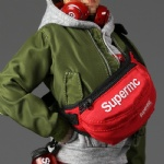 SUPERMC Street Style Flight Jacket Sets Women's